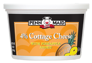 16 Oz Regular with Pineapple Cottage Cheese